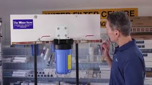 In Home Water Filtration How To Change A Whole House Sediment Water Filter