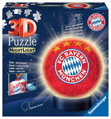 Maybe you would like to learn more about one of these? Nachtlicht Fc Bayern Munchen 3d Puzzle Ball 3d Puzzle Produkte Nachtlicht Fc Bayern Munchen