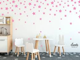 star wall decals mixed sizes and