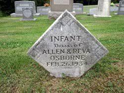 infant daughter Osborne (1934-1934) - Find A Grave Memorial
