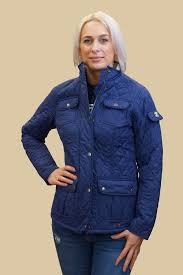 Barbour Ladies quilted jacket Buryhead in Naval Blue LQU0614BL53 ... & Barbour Ladies quilted jacket Buryhead in Naval Blue LQU0614BL53 - Smyths  Country Sports Adamdwight.com