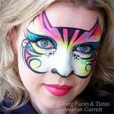 5 of the coolest cat face painting designs
