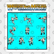 Wrestling Moves Chart Wrestling Moves