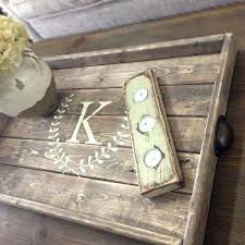 wooden tray decor astonishing wood tray for ottoman for room decorating ideas with wood tray for wooden tray decor