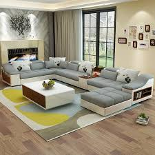 Modern sofa set designs Leather Luxury Modern Shaped Leather Fabric Corner Sectional Sofa Set Design Couches For Living Room With My Aashis Luxury Modern Shaped Leather Fabric Corner Sectional Sofa Set