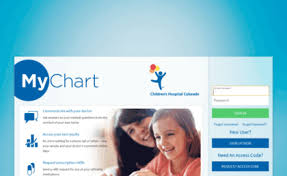 My Chart Access 72 Detailed Childrens Colorado My Chart