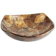 Gold Decorative Bowl Gold Foil Ceramic Decorative Bowl Pier 1 Imports