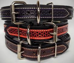 these heavy duty dog collars are 1 1 2 wide and are 100