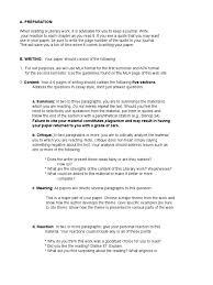 reaction paper format paragraph
