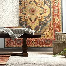 red and teal rug red area rug red teal area rug