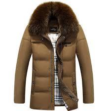 Fall-<b>2016 New</b> Fashion Hot Men Winter Down Coat <b>Imitation Fox</b> Fur