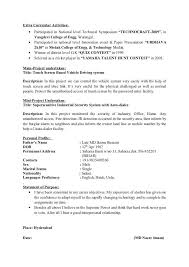 Brilliant Ideas of Extra Curricular Activities For Resumes With Additional  Resume