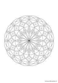 Volwassen Kleurplaten Mandala Volwassen Kleurplaten Mandala