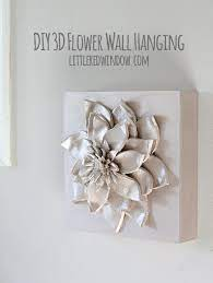 diy 3d flower wall hanging hanging