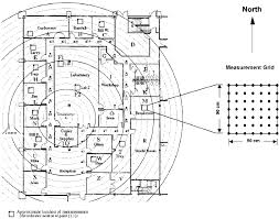 modern office floor plans. The Floor Plan Of A Typical Modern Office Building Where Propagation Measurement Experiment Was Performed Plans N