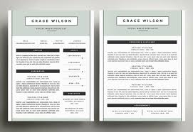 ... four-page template design, including handcrafted two-page resume, cover  letter and references  because your life shouldn't have to fit onto one  page!