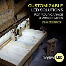 inspired led lighting. find affordable durable garage led lighting and workshop items at inspired led u
