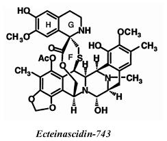 Resultado de imagen de ecteinascidin