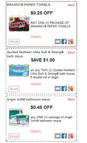 New Quilted Northern, Brawny and Angel Soft Coupons ($0.55 Toilet ... & We have new Angel Soft, Quilted Northern and Brawny printable coupons and  Savingstar offers. Angel Soft and Brawny are on sale for $1 at Kroger  through ... Adamdwight.com