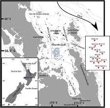 Sediment Deposition In The Central Hauraki Gulf New Zealand