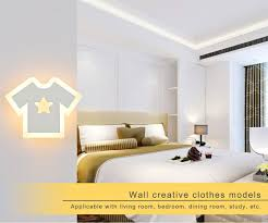 led t shirt wall lights living room bedroom ceiling lamps led indoor wall lamp modern home ceiling wall lights bedroom