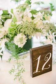 wooden table numbers ideas wedding tabl on black and white centerpieces ideas