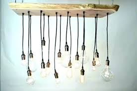 edison bulb chandelier diy style bulbs chandeliers how to make a bare home decor improvement