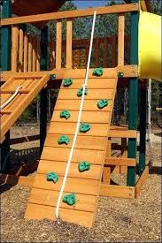 climber bench umbrella gorilla rock climbing playset diy wall for cafe swing set