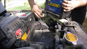 How to change the battery in a 2004 KIA Optima - YouTube
