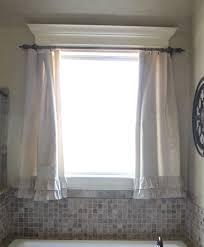 Bronze Mirror Bathroom Frameless Mirror Bathroom Window Treatments White Tile Wall Bronze