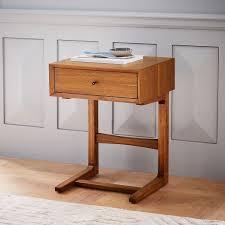 c shaped nightstand. Beautiful Nightstand MidCentury CShaped Nightstand Inside C Shaped West Elm
