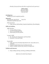 Resume College Graduate Little Experience How To Write A Resume When Youre  Just Out Of College