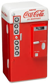 Coca Cola Mini Vending Machine Gorgeous Amazon Gibson Coke Vending Machine Cookie Jar Mini Vending