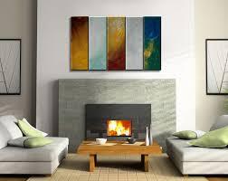 original modern abstract colorful wall