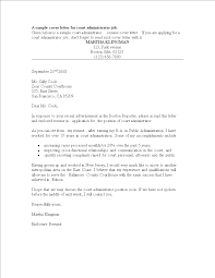 Free Court Administrator Resume Cover Letter In Word Format