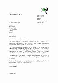Cover Letter Formatting Unique Customer Service Cover Letter