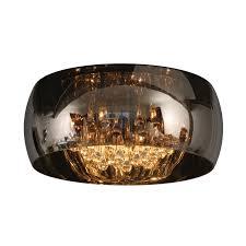 lucide pearl 6 light flush ceiling light