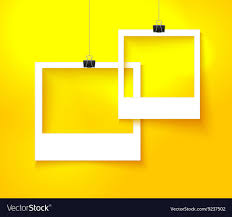 Paper Picture Frame Templates Paper Photo Frames Composition Template Royalty Free Vector