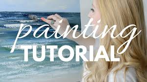 painting tutorial with acrylic for beginners katie jobling art you