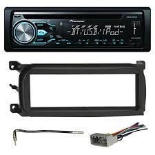 must have gadgets pioneer deh x4800bt bluetooth in dash cd car stereo audio receiver bundle combo w metra 996503 installation kit for 1998 up chrysler dodge jeep vehicles