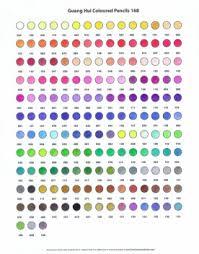 Prismacolor Pencil Chart Pdf Pencil Charts