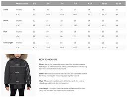 Size Guide Find Your Best Fit Rudsak