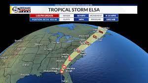 WKRG | ELSA'S LATEST TRACK: Hurricane ...
