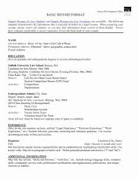Resume Samples 2016 How To Format A Resume Fresh 20 Proper Resume