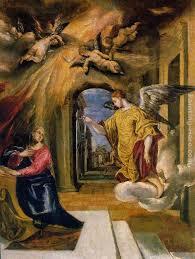 el greco the annunciation