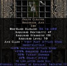 beast runeword beast of doom and grief of doom d2jsp topic