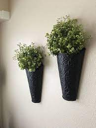 wall vase decor rustic wall decor