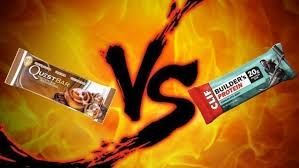 but some are just glorified candy bars let s see how two of the most por options quest
