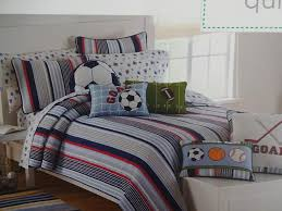 AUTHENTIC KIDS All SPORTS HOCKEY RED BLUE White TWIN QUILT Sham ... & AUTHENTIC KIDS ALL SPORTS HOCKEY RED BLUE TWIN QUILT SHAM SHEET SET 6PC Adamdwight.com