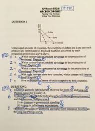 production possibilities curve ppc ap macroeconomics ap  ap econ essay questions you can use the response questions and scoring guidelines below as you prepare for the ap macroeconomics